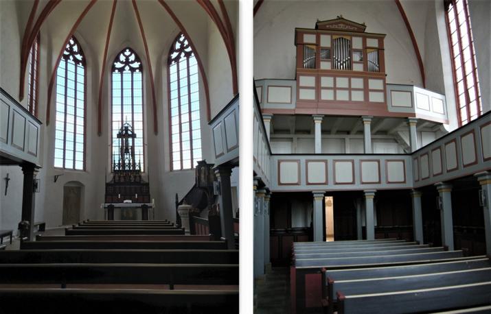 Kloster (Monastery) Wittenburg - Eastern Interior