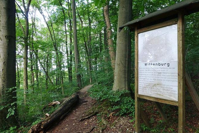 Wittenburg Castle Sign